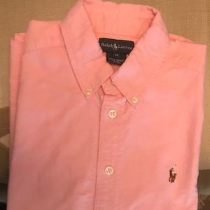 Polo button up youth size 14